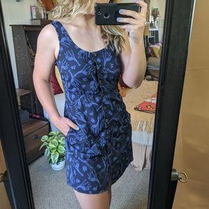 BLUE GIRAFFE PRINT DRESS ❤️👗
